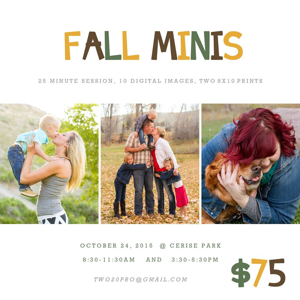 mini sessions montrose colorado